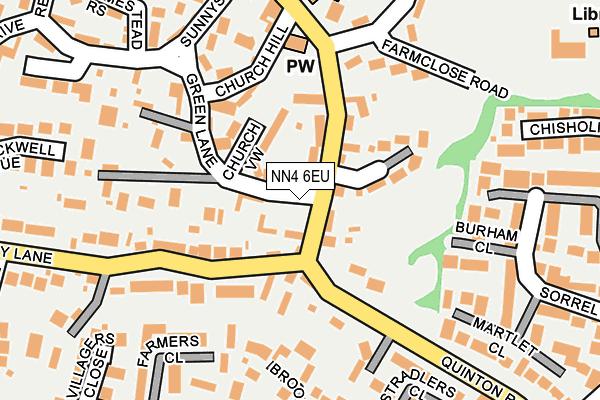 NN4 6EU map - OS OpenMap – Local (Ordnance Survey)