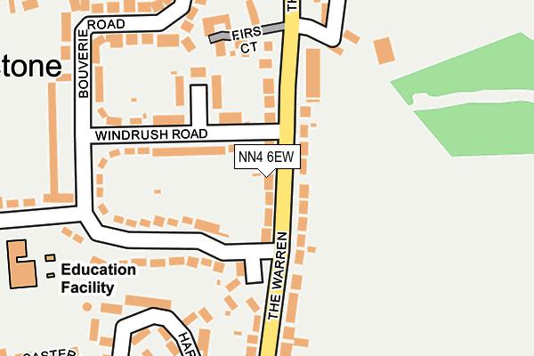 NN4 6EW map - OS OpenMap – Local (Ordnance Survey)
