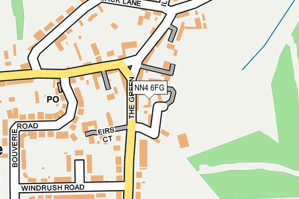 NN4 6FG map - OS OpenMap – Local (Ordnance Survey)