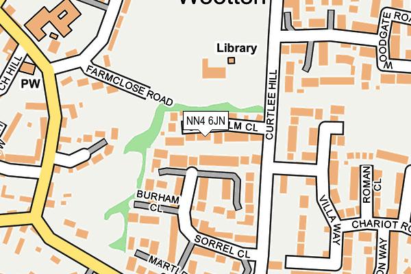 NN4 6JN map - OS OpenMap – Local (Ordnance Survey)