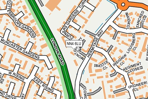 NN4 6LU map - OS OpenMap – Local (Ordnance Survey)