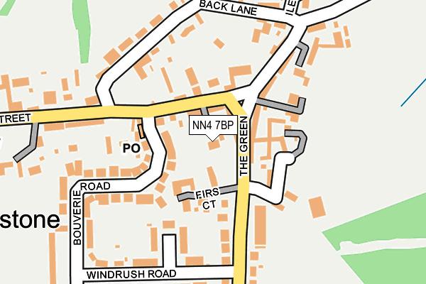 NN4 7BP map - OS OpenMap – Local (Ordnance Survey)
