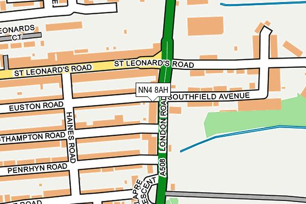 NN4 8AH map - OS OpenMap – Local (Ordnance Survey)