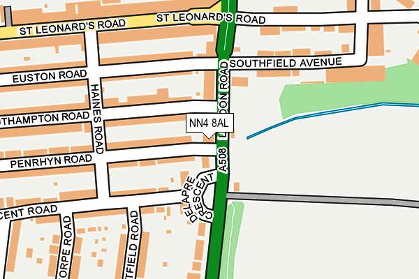 NN4 8AL map - OS OpenMap – Local (Ordnance Survey)