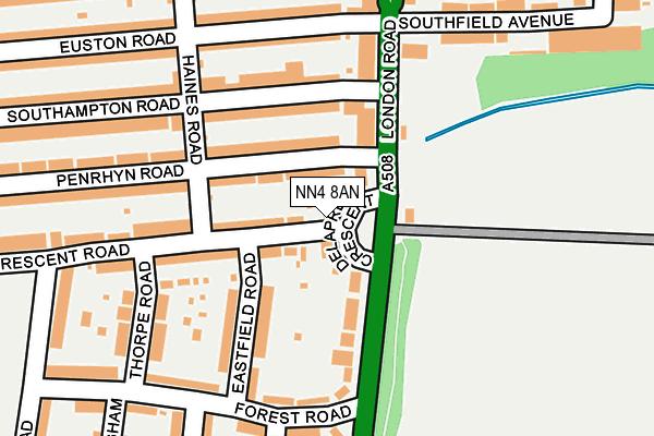 NN4 8AN map - OS OpenMap – Local (Ordnance Survey)