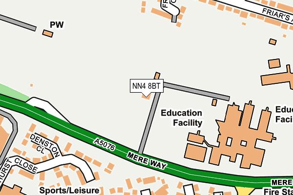 NN4 8BT map - OS OpenMap – Local (Ordnance Survey)