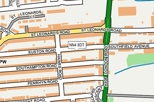 NN4 8DT map - OS OpenMap – Local (Ordnance Survey)