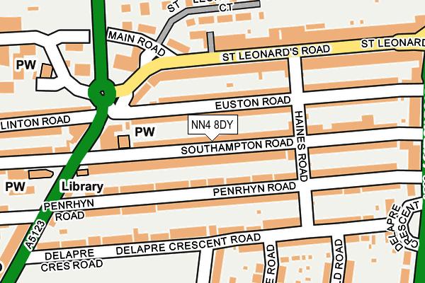 NN4 8DY map - OS OpenMap – Local (Ordnance Survey)