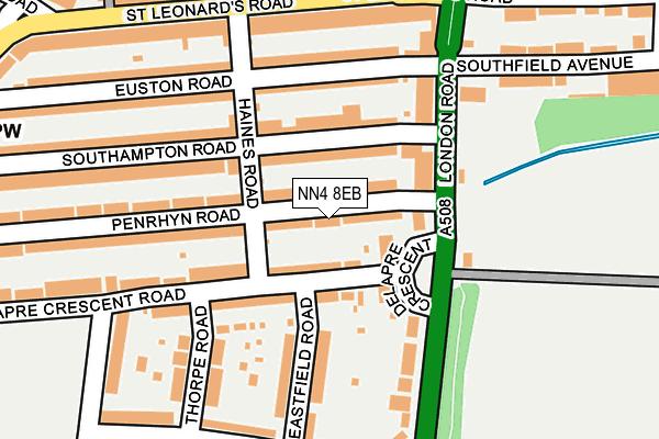NN4 8EB map - OS OpenMap – Local (Ordnance Survey)