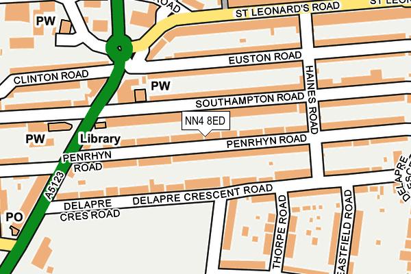 NN4 8ED map - OS OpenMap – Local (Ordnance Survey)