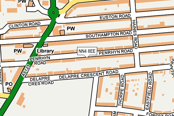 Map of MRM BRICKWORK LTD at local scale