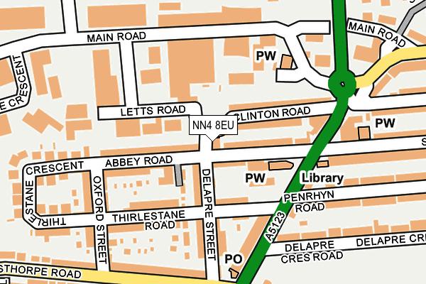 NN4 8EU map - OS OpenMap – Local (Ordnance Survey)