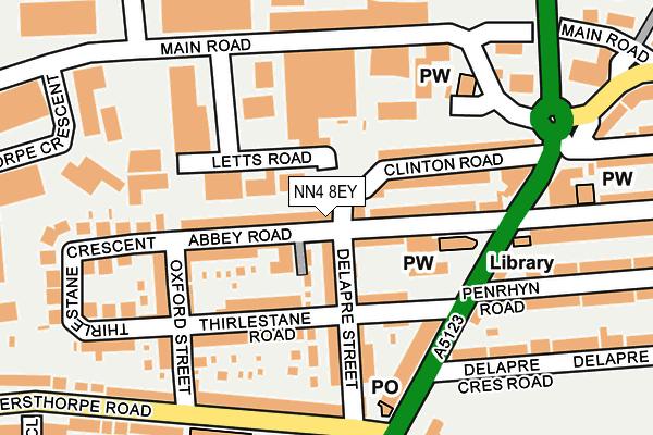 NN4 8EY map - OS OpenMap – Local (Ordnance Survey)
