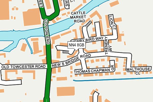 NN4 8GB map - OS OpenMap – Local (Ordnance Survey)