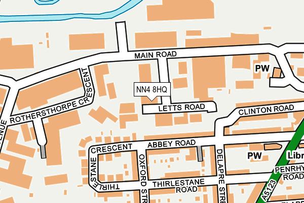 NN4 8HQ map - OS OpenMap – Local (Ordnance Survey)