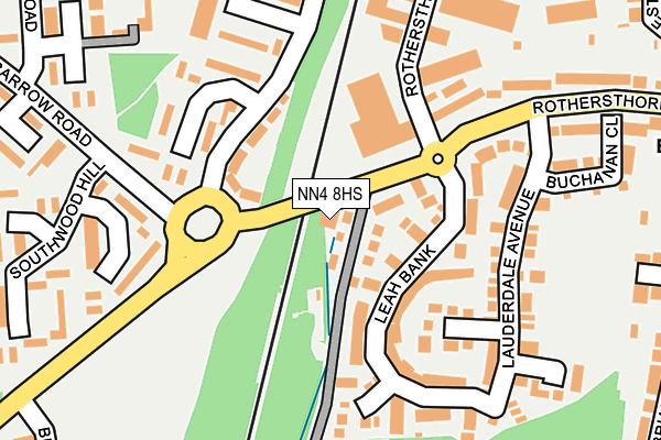 NN4 8HS map - OS OpenMap – Local (Ordnance Survey)