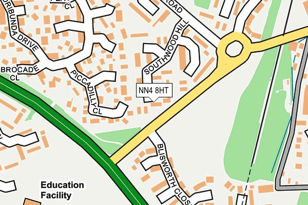 NN4 8HT map - OS OpenMap – Local (Ordnance Survey)