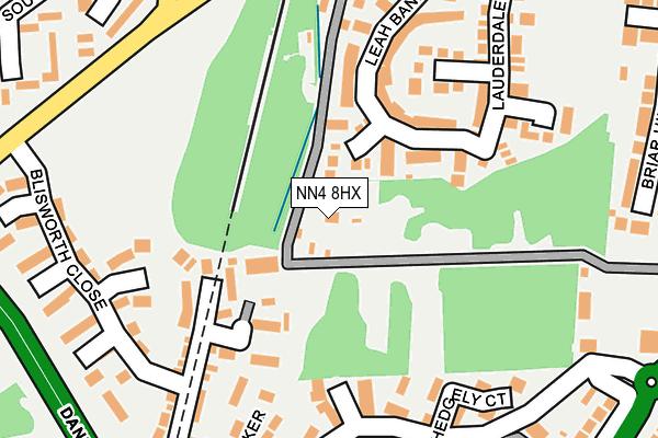 NN4 8HX map - OS OpenMap – Local (Ordnance Survey)