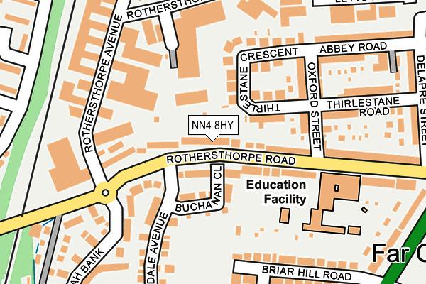 NN4 8HY map - OS OpenMap – Local (Ordnance Survey)