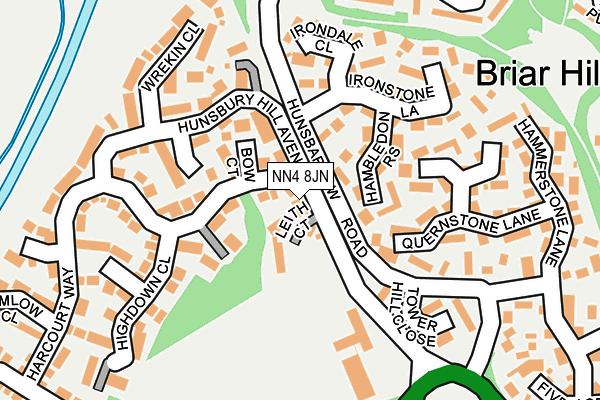 NN4 8JN map - OS OpenMap – Local (Ordnance Survey)