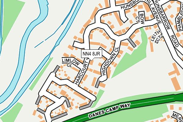NN4 8JR map - OS OpenMap – Local (Ordnance Survey)