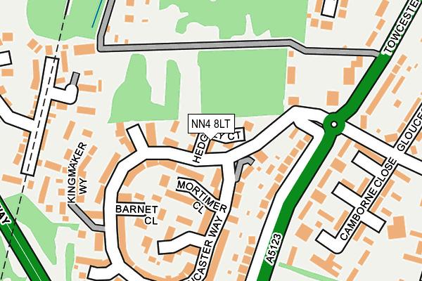 NN4 8LT map - OS OpenMap – Local (Ordnance Survey)