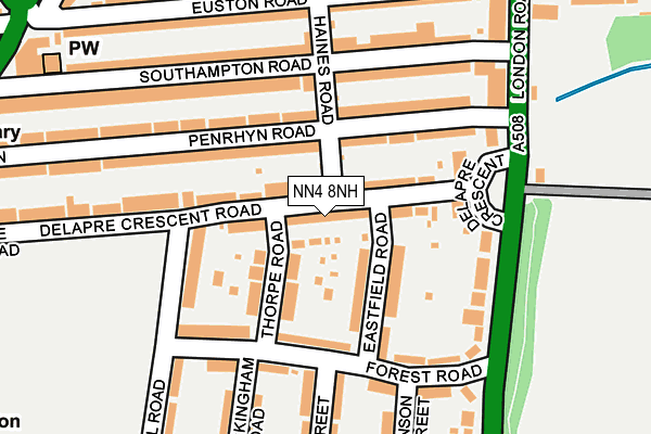 Map of APA TRANSPORT LIMITED at local scale