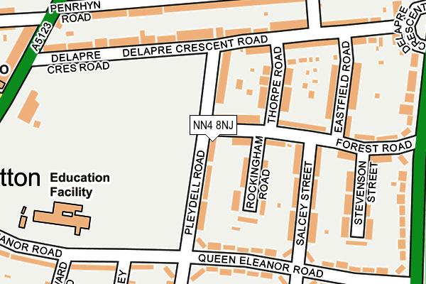 NN4 8NJ map - OS OpenMap – Local (Ordnance Survey)