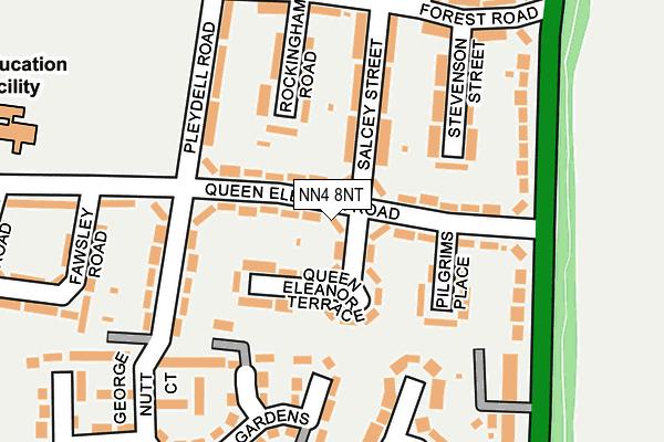 NN4 8NT map - OS OpenMap – Local (Ordnance Survey)