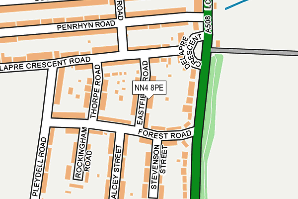 Map of ANDY BENNETT & SON'S LTD at local scale