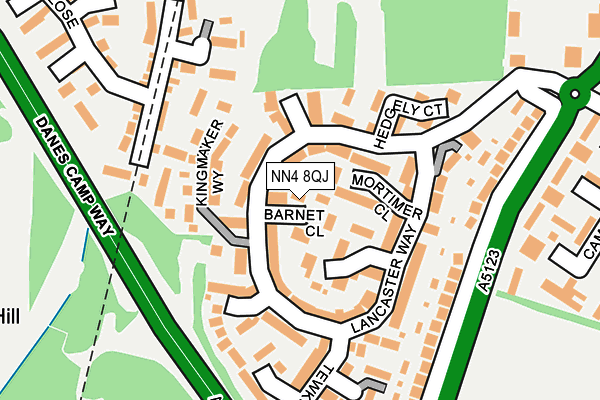 Map of ZARSOL LIMITED at local scale