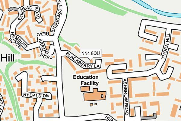 NN4 8QU map - OS OpenMap – Local (Ordnance Survey)