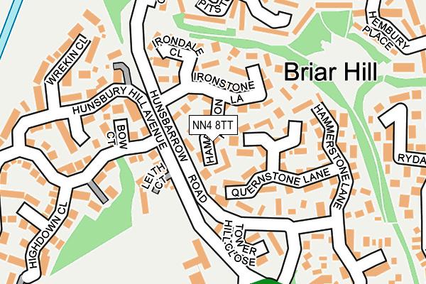 NN4 8TT map - OS OpenMap – Local (Ordnance Survey)