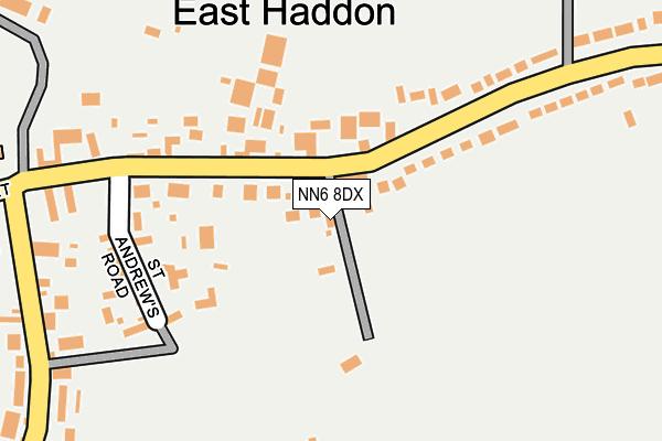 NN6 8DX map - OS OpenMap – Local (Ordnance Survey)