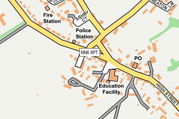 NN6 8PT map - OS OpenMap – Local (Ordnance Survey)