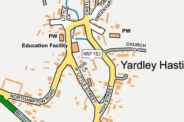 NN7 1EJ map - OS OpenMap – Local (Ordnance Survey)