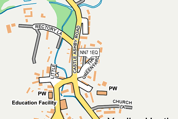 NN7 1EQ map - OS OpenMap – Local (Ordnance Survey)