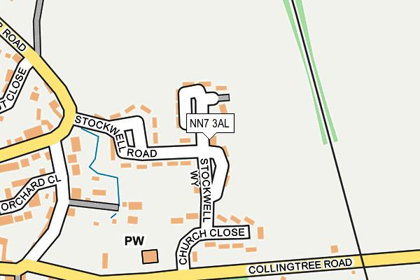 NN7 3AL map - OS OpenMap – Local (Ordnance Survey)