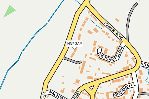 NN7 3AP map - OS OpenMap – Local (Ordnance Survey)