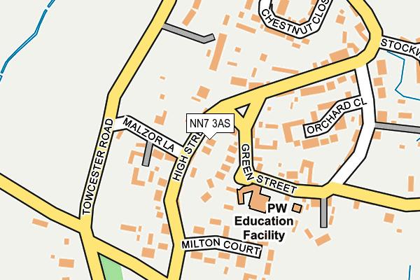 NN7 3AS map - OS OpenMap – Local (Ordnance Survey)