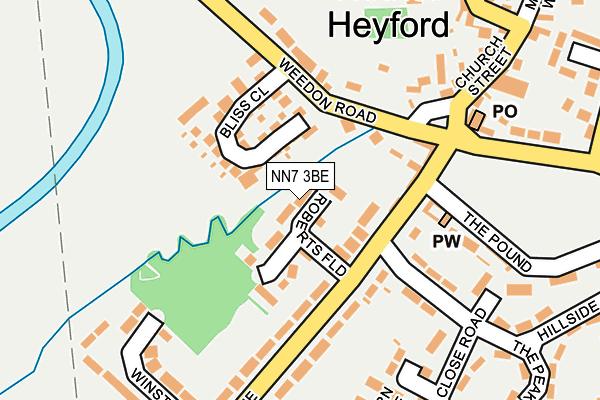 NN7 3BE map - OS OpenMap – Local (Ordnance Survey)