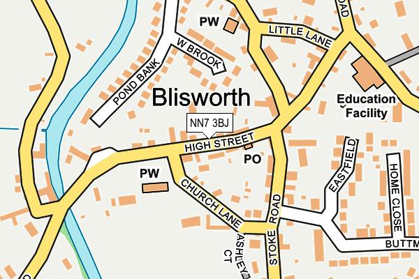 NN7 3BJ map - OS OpenMap – Local (Ordnance Survey)