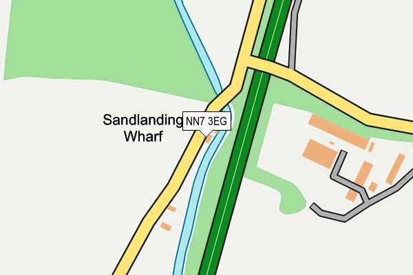 NN7 3EG map - OS OpenMap – Local (Ordnance Survey)