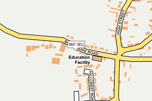 NN7 3EU map - OS OpenMap – Local (Ordnance Survey)