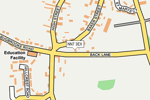 NN7 3EX map - OS OpenMap – Local (Ordnance Survey)
