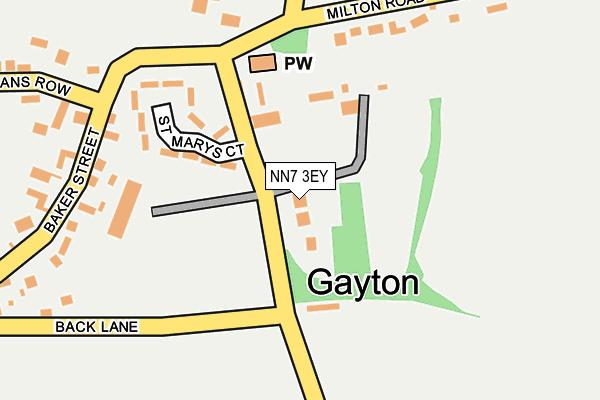 NN7 3EY map - OS OpenMap – Local (Ordnance Survey)