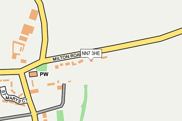 NN7 3HE map - OS OpenMap – Local (Ordnance Survey)
