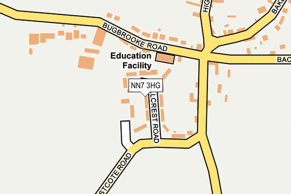 NN7 3HG map - OS OpenMap – Local (Ordnance Survey)