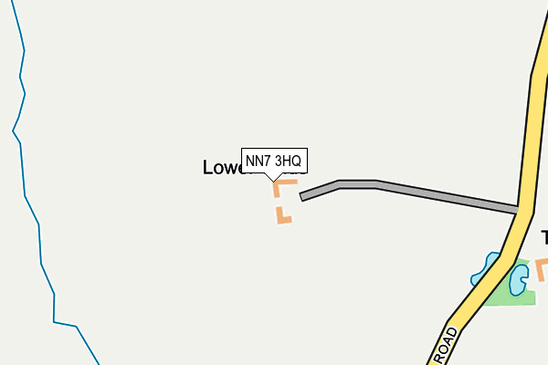 NN7 3HQ map - OS OpenMap – Local (Ordnance Survey)
