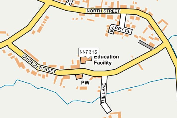 NN7 3HS map - OS OpenMap – Local (Ordnance Survey)